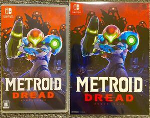 超美品 特典付 METROID DREAD メトロイド ドレッド Nintendo Switch ニンテンドースイッチ ソフト 任天堂 スイッチソフト