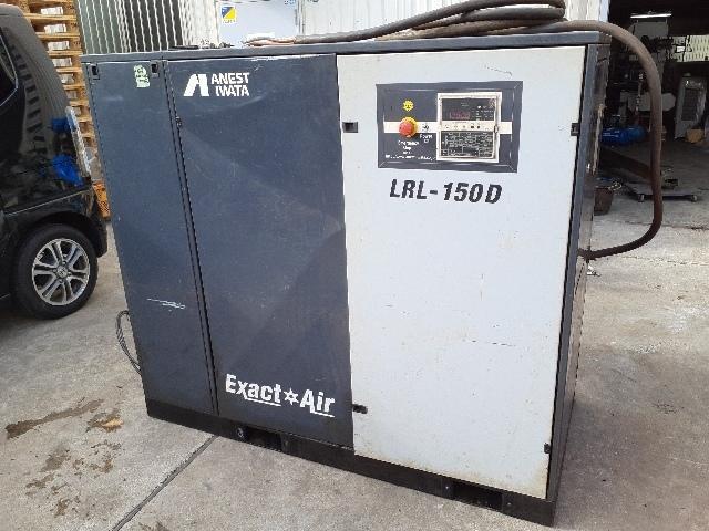 【1円スタート!】 アネスト岩田 Extra AIr ロータリーコンプレッサー LRL-150DM6 動作良好 ※直接引き取り限定※