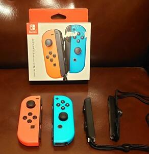 【当日発送】ジョイコン 【完動品】ネオンレッド ネオンブルー (Joy-Con Nintendo Switch)