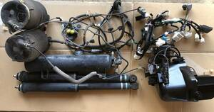 純正 トヨタ ラクティス リア エアサス ショック 配線 エアタンク 福祉 介護 車椅子 車両 ウェルキャブ スローパー NSP122 SCP100 NCP100