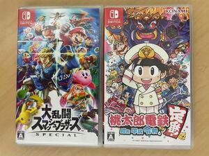 大乱闘スマッシュブラザーズSPECIAL 桃太郎電鉄 Nintendo Switch パッケージ版