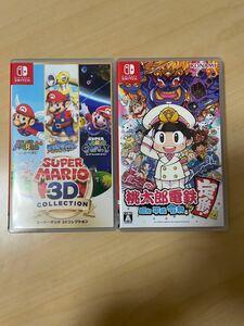 桃太郎電鉄 マリオ3Dコレクション Nintendo Switch ソフト