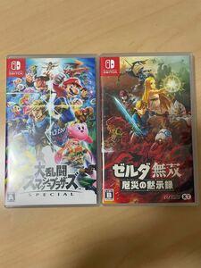 大乱闘スマッシュブラザーズSPECIAL ゼルダ無双 Nintendo Switch