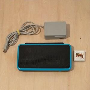 ニンテンドー New2DSLL 32GBmicroSD 充電コード スーパーマリオ3Dランドつき