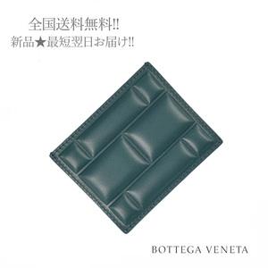 H705.. BOTTEGA VENETA ボッテガ ヴェネタ カードケース ブロック キルティング イタリア製 ★ 3132 OTTANIO