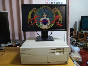 【格安】NEC PC-9801BX2 起動OK ジャンク扱い【PC-98】