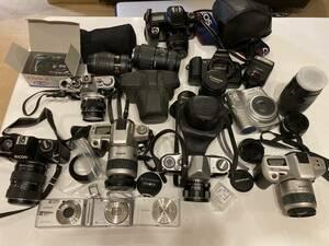 { secondhand goods 1 jpy start } camera body lens set sale operation not yet verification junk