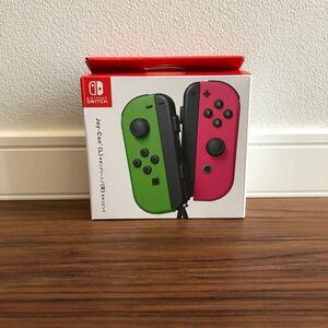 【新品未使用】Nintendo Switch Joy-Con ネオングリーン ネオンピンク スイッチ ジョイコン