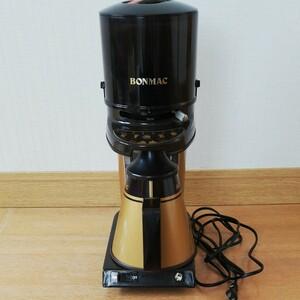 BONMC ボンマック 電動コーヒーミル ラッキーコーヒーマシン コーヒーカッター コーヒーグラインダー 業務用