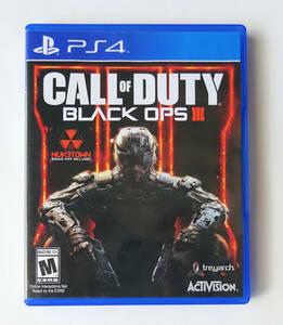 PS4 コール オブ デューティ ブラックオプスIII CALL OF DUTY BLACK OPS 3 北米版 ★ プレイステーション4