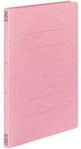 【未使用品】1冊表紙折れあり コクヨ フラットファイルV(樹脂製とじ具) A4縦 15ミリとじ 10冊 ピンク フ-V10P