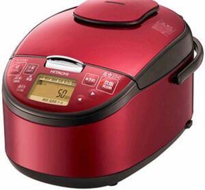 日立 HITACHI 圧力IH炊飯器5.5合 RZ-H10BJ R レッド