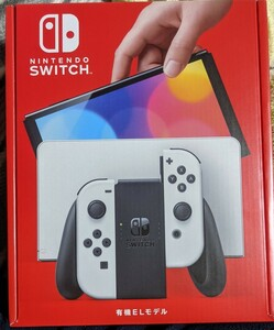 Nintendo Switch 任天堂スイッチ 本体(有機ELモデル) Joy-Con(L)/(R) ホワイト■新品、納品書あり