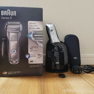 BRAUN シリーズ7 7898cc-P メンズ電気シェーバー 洗浄器付モデル