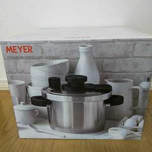 送料無料 新品未開封 MEYER  マイヤー プレミアムプレッシャークッカー 4.0L 圧力鍋 IH対応