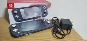 Nintendo Switch light 本体 グレー