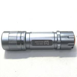 ▼ジェントス GENTOS 『閃』 FLP-1807 ライト 乾電池式 フォーカスコントロール(中古)(y1015_6)