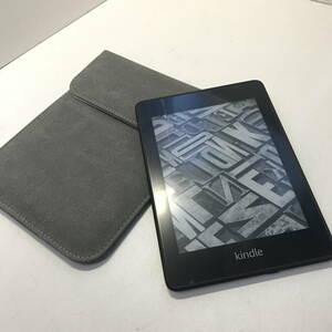 ▼Amazon キンドル Kindle Paperwhite 8G 第10世代 PQ94WIF 収納ケース付き(中古)(y1015_7)