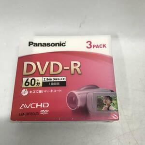●Panasonicパナソニック DVD-R 60分 3パック ビデオカメラ用 LM-RF60J3 定形外210円発送可能(未開封品)(u1020_10)