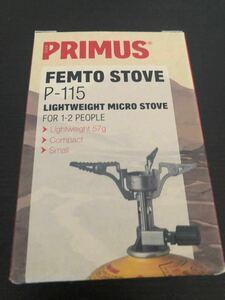 PRIMUS プリムス フェムトストーブ P-115