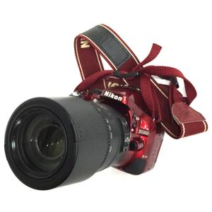Nikon D5200 デジタル一眼レフカメラ ボディ レッド DX AF-S NIKKOR 55-300mm F4.5-5.6G ED レンズ ニコン