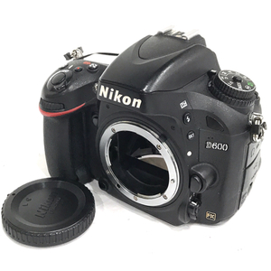 1円 Nikon D600 FX デジタル一眼レフカメラ ボディ ニコン C2547