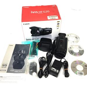 1円 CANON iVIS HF G20 HDビデオカメラ キャノン 動作確認済 C2393