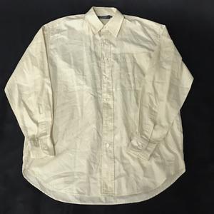 プリングル サイズ M 襟付き 長袖 シャツ 無地 メンズ ビジネスシャツ トップス アパレル ホワイト系 白色系 Pringle