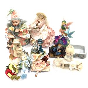 1円 B&J COMPANY Phillip's Cousins フィギュリン 女の子 他 オルゴール人形 陶器人形 等 まとめセット