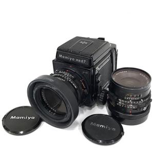 MAMIYA RB67 Professional S MAMIYA-SEKOR C 1:3.8 127mm 1:3.8 90mm 中判カメラ フィルムカメラ レンズ QN104-8