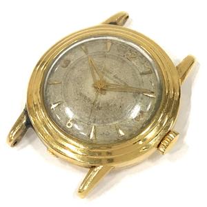 ユリスナルダン 腕時計 フェイス クロノメーター 金無垢 14K 自動巻き メンズ 稼働品 ULYSSE NARDIN QD105-55