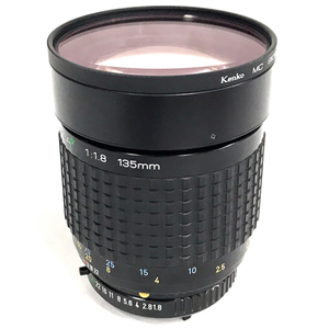 SMC PENTAXーA スターレンズ 1:1.8 135mm マニュアルフォーカス カメラ レンズ ペンタックス QB105-69