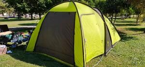 ロゴス ROSY ツールームドームテント グランドシート付き キャンプ ドームテント