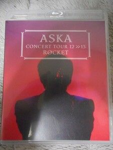 BD ASKA CONCERT TOUR 12>>13 ROCKET 初回出荷音割れ盤 飛鳥涼 特典付 チャゲ&飛鳥