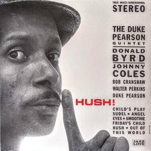 The Duke Pearson デューク・ピアソン Quintet - Hush! 限定再発アナログ・レコード