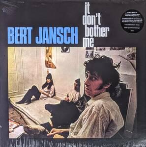 Bert Jansch バート・ヤンシュ (=Pentangle) - It Don't Bother Me 限定リマスター再発アナログ・レコード