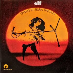 Elf エルフ (=Ronnie James Dio - Rainbow, Black Sabbath) Trying To Burn The Sun 限定再発アナログ・レコード