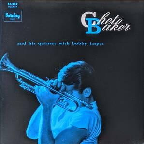 Chet Baker チェット・ベイカー And His Quintet With Bobby Jaspar ボビー・ジャスパー 限定リマスター再発アナログ・レコード