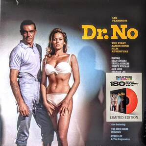 Monty Norman - Ian Fleming's 007 Dr. No (Original Motion Picture Sound Track Album) 限定再発レッド・カラー・アナログ・レコード