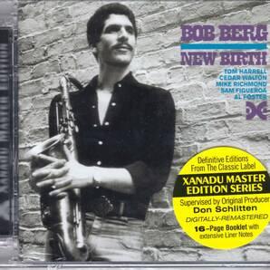 Bob Berg ボブ・バーグ - New Birth ボーナス・トラック1曲追加収録再発CD