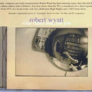 Robert Wyatt ロバート・ワイアット - Solar Flares Burn For You イメージ・ヴィデオ・クリップ収録エンハンスドCD