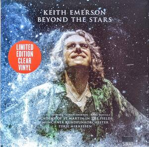 Keith Emerson Terje Mikkelsen The Academy Of St. Martin-in-the-Fields - Beyond The Stars 500枚限定クリアー・アナログ・レコード