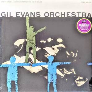 The Gil Evans ギル・エヴァンス Orchestra Featuring Johnny Coles - Great Jazz Standards 限定リマスター再発アナログ・レコード