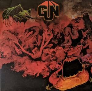 The Gun ガン(Adrian Gurvitz-Three Man Army,Baker Gurvitz Army)1,000枚限定再発レッド/シルバー・マーブル・カラー・アナログ・レコード
