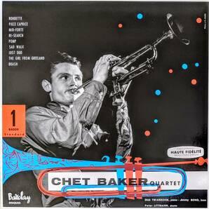 Chet Baker チェット・ベイカー Quartet - 1955 限定リマスター再発アナログ・レコード
