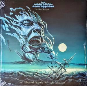 The Amorphous Androgynous & Peter Hammill(=Van Der Graaf Generator) We Persuade Ourselves We Are Immortal限定アナログ・レコード