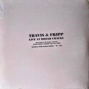Theo Travis (=Soft Machine) & Robert Fripp (King Crimson) Live At Broad Chalke 手書き番号入り250枚限定アナログ・レコード