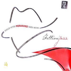Enrico Pieranunzi エンリコ・ピエラヌンツィ - Fellini Jazz デジタル番号入り1,000枚限定CD付再発二枚組アナログ・レコード