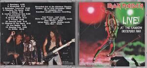 Iron Maiden アイアン・メイデン - Live! At The Rainbow December 1980 CD