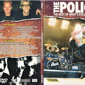 The Police ポリス - The Best Of What's Still Around 限定NTSC方式DVD